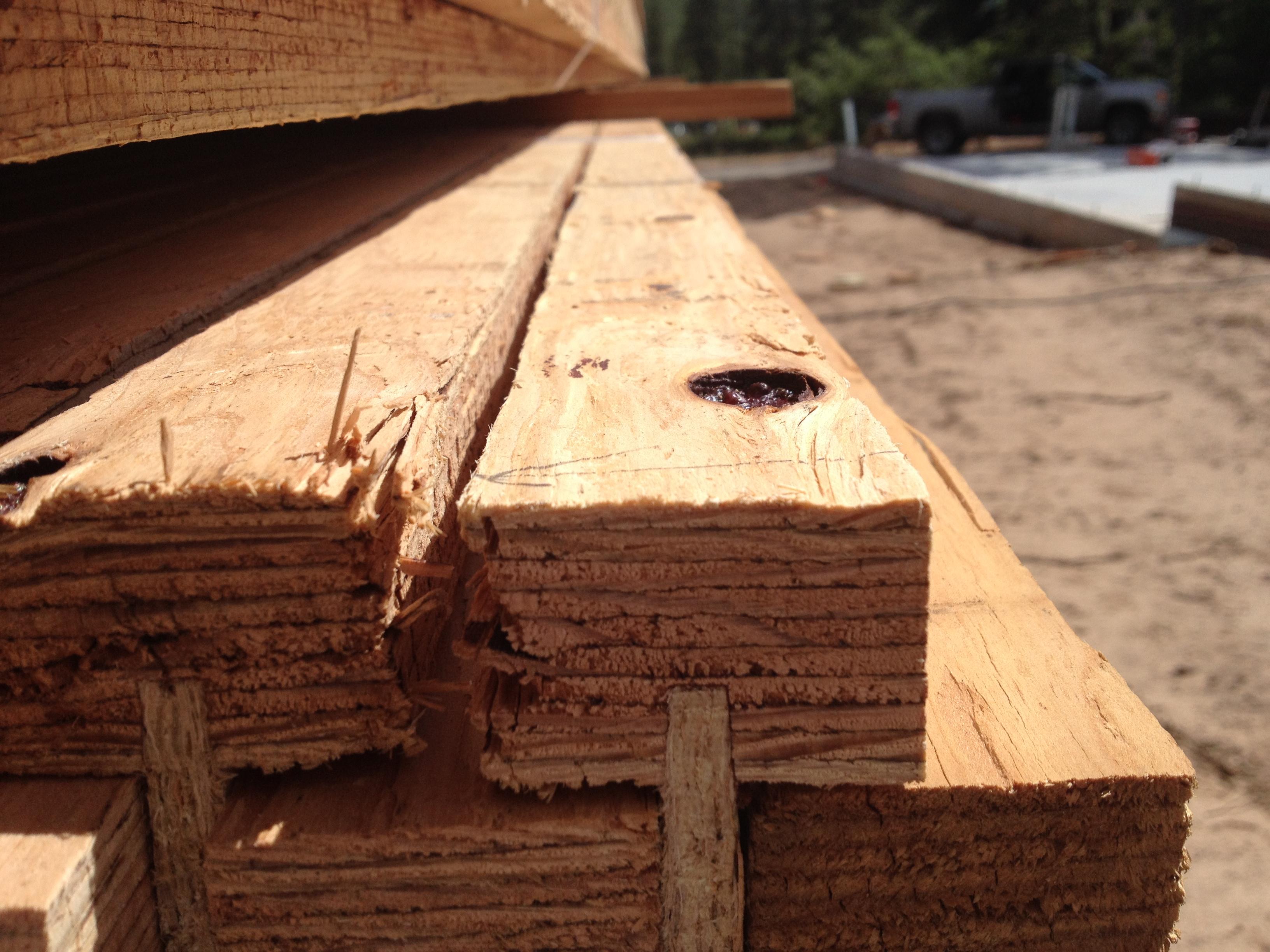 Lvl Beam Design Lvl Laminated Veneered Lumber